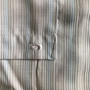Quiksilver Shirts - Quiksilver Casual Blue Striped Shirt $65 Nordstrom